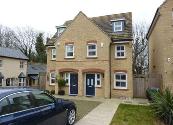 Thumbnail 3 bed semi-detached house for sale in Woodcroft, London