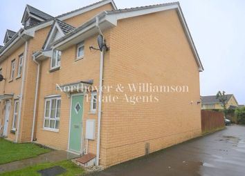 Thumbnail 3 bed end terrace house for sale in Ffordd Brynhyfryd, Old St. Mellons, Cardiff.