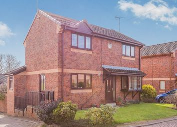 Thumbnail 3 bed detached house for sale in Owlett Mead Close, Thorpe, Wakefield