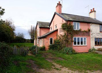 Thumbnail 3 bed semi-detached house to rent in Needle Corner, Harkstead, Ipswich