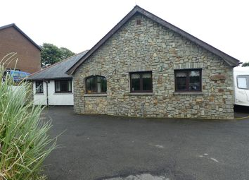 Thumbnail 3 bed detached bungalow for sale in Llanarth, Ceredigion