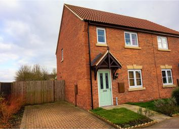Thumbnail 3 bed semi-detached house for sale in Kings Manor, Coningsby, Lincoln