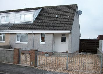 Thumbnail 2 bed semi-detached house for sale in 11 School Road, Stranraer