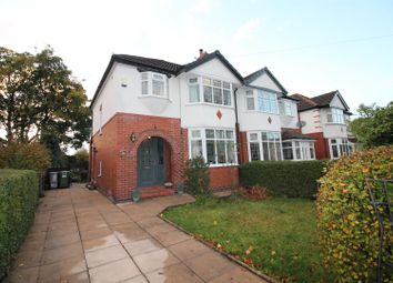 Thumbnail 3 bed semi-detached house for sale in Windermere Road, Urmston, Manchester