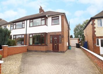 Thumbnail 4 bed semi-detached house for sale in Millstone Lane, Syston, Leicester