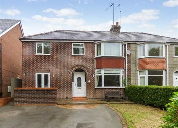 Thumbnail 4 bed semi-detached house for sale in Springfield Road, Macclesfield, Cheshire