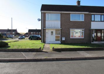 Thumbnail 3 bed semi-detached house to rent in Dorset Drive, Harworth