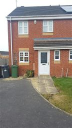 Thumbnail 3 bed semi-detached house to rent in Poppy Close, Nuneaton
