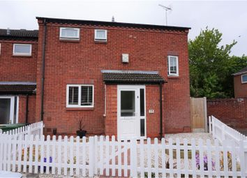 Thumbnail 3 bed end terrace house for sale in Upper Field Close, Redditch