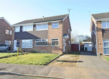 Thumbnail 3 bed semi-detached house for sale in Sywell Way, Wellingborough