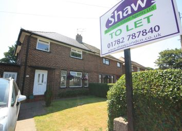Thumbnail 3 bed semi-detached house to rent in Harecastle Avenue, Talke, Stoke-On-Trent