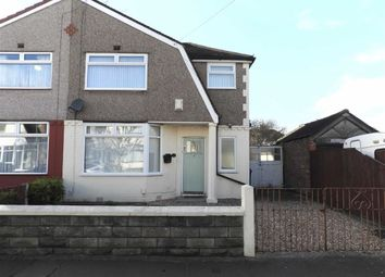 Thumbnail 3 bed semi-detached house for sale in Manor Drive, Bootle