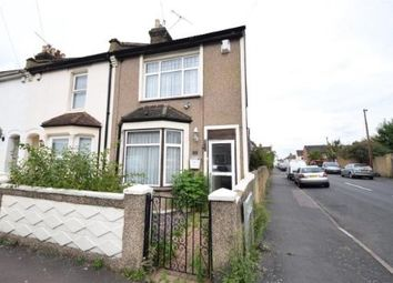 Thumbnail 2 bedroom end terrace house for sale in Eglinton Road, Swanscombe, Kent