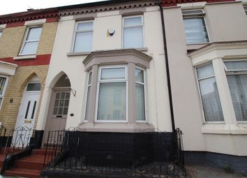 Thumbnail 3 bed terraced house to rent in Pendennis Street, Liverpool, Merseyside