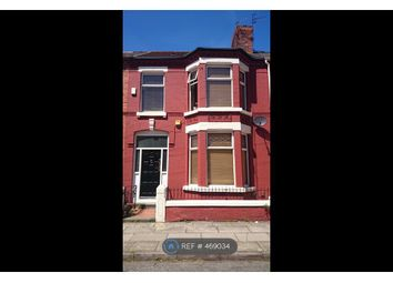 Thumbnail 4 bed terraced house to rent in Kenmare Road, Liverpool