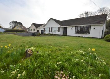 Thumbnail 3 bed detached bungalow for sale in Coombe Road, Shaldon, Devon
