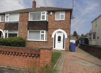 Thumbnail 3 bed semi-detached house for sale in Ridgewood Avenue, Edenthorpe, Doncaster
