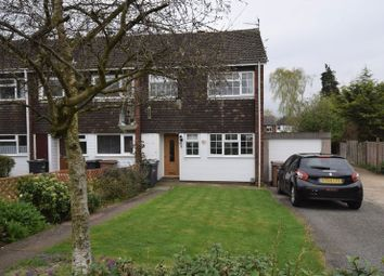 Thumbnail 3 bedroom end terrace house for sale in Woodbridge Close, Luton