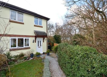 Thumbnail 3 bed semi-detached house for sale in Gales Crest, Chudleigh Knighton, Newton Abbot, Devon