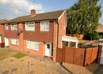 Thumbnail 3 bed semi-detached house for sale in Silverstone Close, Kingsthorpe, Northampton