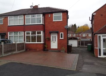 Thumbnail 3 bed semi-detached house to rent in Dovedale Avenue, Prestwich, Manchester