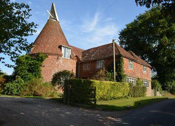 Thumbnail 4 bed farmhouse for sale in Beacon Lane, Staplecross, Robertsbridge