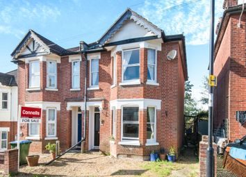 Thumbnail 3 bed semi-detached house for sale in Hillside Avenue, Southampton