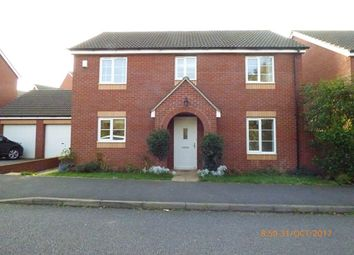 Thumbnail 4 bed detached house to rent in Liberty Way, Exeter