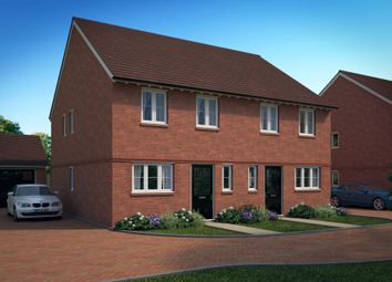 "Thumbnail 3 bed end terrace house for sale in ""Oakfield"" at William Morris Way, Tadpole Garden Village, Swindon"