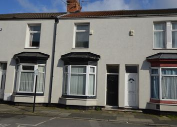Thumbnail 3 bed terraced house to rent in Stowe Street, Middlesbrough