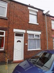 Thumbnail 2 bed terraced house to rent in Wellington Street, Leek, Staffordshire