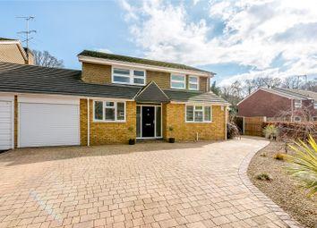 Thumbnail 4 bed detached house for sale in Oakwood Road, Windlesham, Surrey