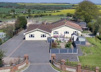 Thumbnail 6 bed equestrian property for sale in Downs Road, East Studdal, Dover