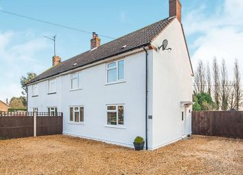 Thumbnail 3 bed semi-detached house for sale in March Road, Guyhirn, Wisbech