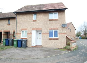 Thumbnail 1 bed end terrace house to rent in Jedburgh Close, Cambridge