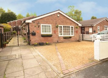 Thumbnail 2 bed detached bungalow for sale in Chelmorton Drive, Lightwood, Stoke-On-Trent