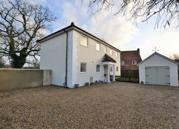 Thumbnail 4 bed detached house for sale in Station Road, North Elmham, Dereham