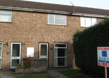 Thumbnail 2 bed terraced house to rent in Winchester Close, Newport, Newport.