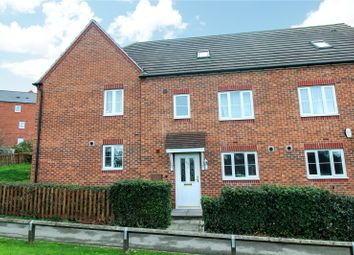 Thumbnail 4 bed town house for sale in Langford Way, Leicester
