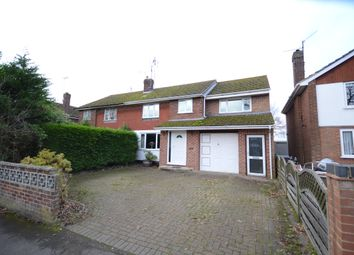 Thumbnail 4 bed semi-detached house for sale in Cotswold Way, Tilehurst, Reading