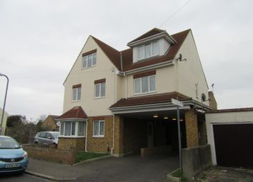 Thumbnail 3 bed flat for sale in St Andrews Close, Shoebury, Essex