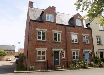 Thumbnail 4 bed end terrace house for sale in Dunley Close, Swindon
