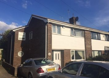 Thumbnail 4 bedroom semi-detached house for sale in Bispham Close, Seddons Farm, Bury, Greater Manchester