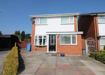 Thumbnail 3 bed detached house for sale in Esk Close, Urmston, Manchester