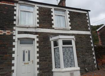 Thumbnail 1 bed end terrace house to rent in Wood Road, Treforest, Pontypridd