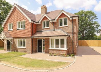 Thumbnail 3 bed semi-detached house for sale in Guildford Road, Bagshot