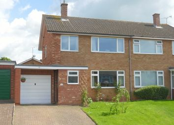 Thumbnail 3 bed semi-detached house for sale in Beaufort Avenue, Hereford
