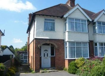 Thumbnail 4 bed semi-detached house to rent in Worplesdon Road, Guildford, Surrey