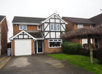 Thumbnail 4 bed detached house for sale in Lamb Close, Newark
