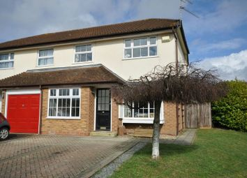 Thumbnail 3 bedroom semi-detached house for sale in Nimrod Close, Woodley, Reading